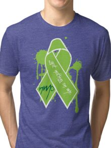 NMO Ribbon Tri-blend T-Shirt