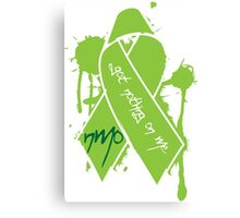 NMO Ribbon Canvas Print