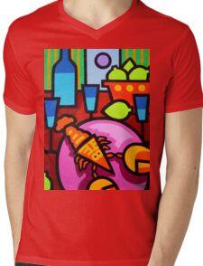 Still Life At Window Mens V-Neck T-Shirt