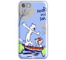 Maro and San iPhone Case/Skin