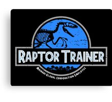 Jurassic World Raptor Trainer Canvas Print