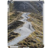 Way in alpine grassland iPad Case/Skin