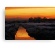 Spectral mornings Canvas Print