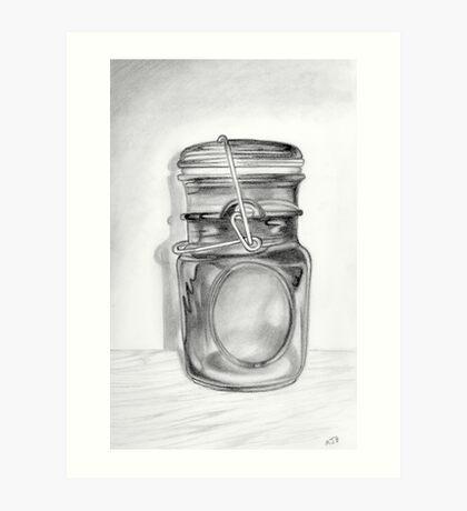 Canning Jar Art Print