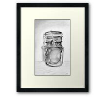 Canning Jar Framed Print