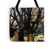 Cemetery Trees Tote Bag