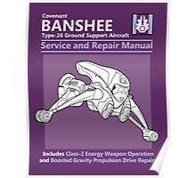Banshee Service and Repair Manual Poster