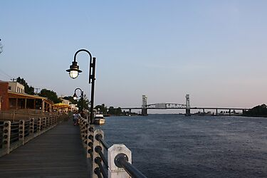 Wilmington Dusk by Yajhayra Maria