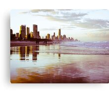 The Gold Coast Australia Metal Print