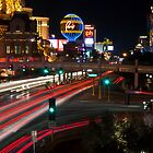 The Las Vegas Strip by Eddie Yerkish