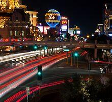 The Las Vegas Strip by Eddie Yerkish