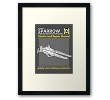Sparrow Service and Repair Manual Framed Print