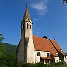 Church of St. Johann. by Lee d'Entremont