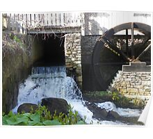 Jenny Grist Mill in Plymouth,  MA Poster
