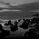 Rocky beach by Lois Romer
