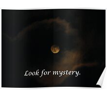 Look for Mystery Everywhere Poster