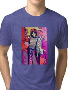 The Drakerix Red or Blue Pill Tri-blend T-Shirt