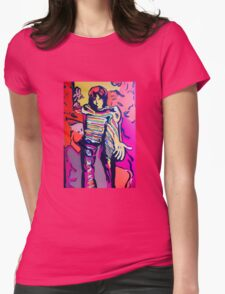 The Drakerix Red or Blue Pill Womens Fitted T-Shirt