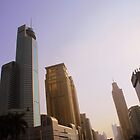 Downtown Shenzhen, China by Chris Millar