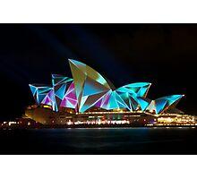 All Colours Vivid Lights Photographic Print