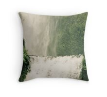 """I know you're tired but come, this is the way."" — Rumi Throw Pillow"