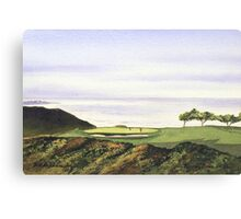Torrey Pines South Golf Course Hole 3 Canvas Print