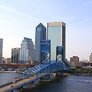 Blue Bridge Jacksonville Florida by Yajhayra Maria