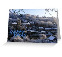 Ironbridge Spring Snow Greeting Card