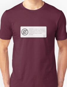 FREEDOM (COPYRIGHT Series) Unisex T-Shirt