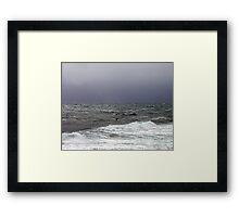 Only The Ocean Framed Print
