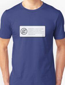 KNOWLEDGE (COPYRIGHT Series) Unisex T-Shirt