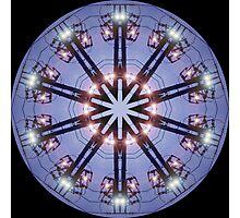 Electric Wire Kaleidoscope Photographic Print