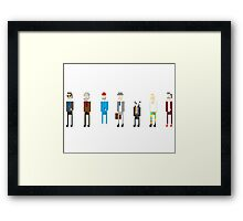 All Bill Murray's Wes Anderson Roles Framed Print