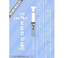 Necropolis Propaganda Poster3 Photographic Print