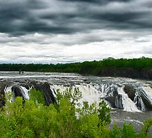Cohoes Falls by barkeypf