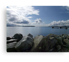 Quiet Day on Saanichton Bay Canvas Print