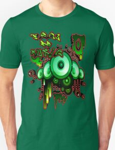 Urban Music Graffiti Style # 1 Feel DA Music Unisex T-Shirt
