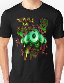 Urban Music Graffiti Style # 1 Feel DA Music T-Shirt