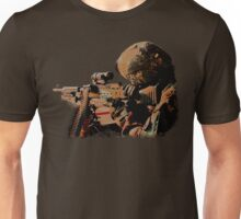 Machine Gunner Unisex T-Shirt
