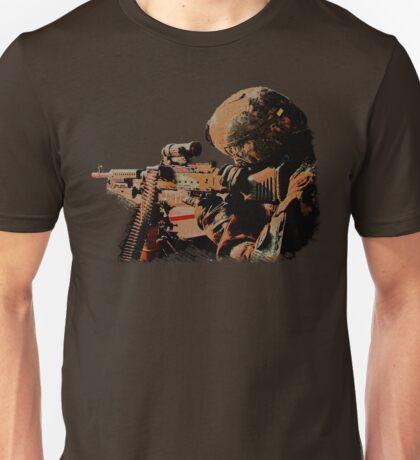 Machine Gunner Unisex T-Shirt