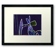 Artistic Daffodil Framed Print