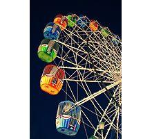 Twilight Ferris Wheel Photographic Print