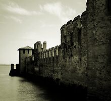 The Scaliger Castle, Sirmione, Italy by Ronny Falkenstein