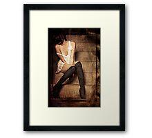 Body Language Framed Print