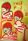 red p.j.'s by donnamalone