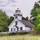 Mission Point Lighthouse by Mary Ann  Melton