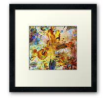 The Essence of Flowers Framed Print