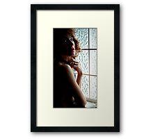 In the Half Light Framed Print