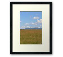 Masai Mara, Kenya Framed Print