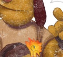 Firefrog (Firefly / The Muppets) - Jayne / Fozzie Sticker